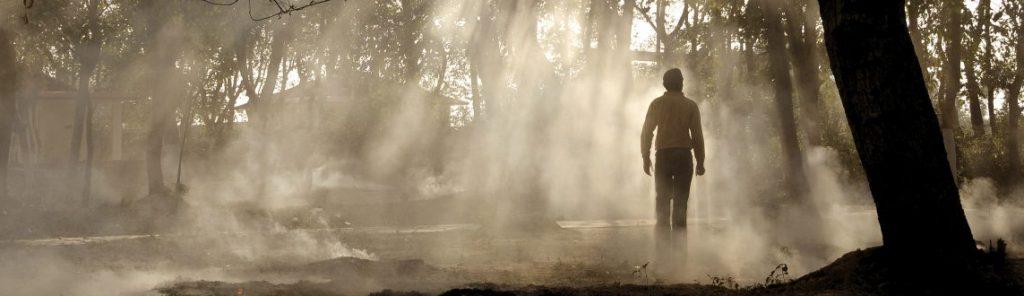 break through the mist